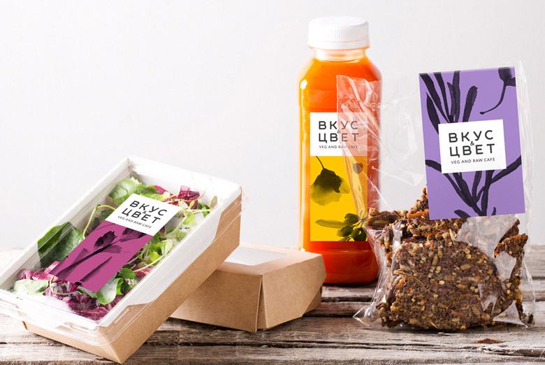 Создание дизайна бренда и подготовка брендбука нового проекта «Вкус и Цвет»