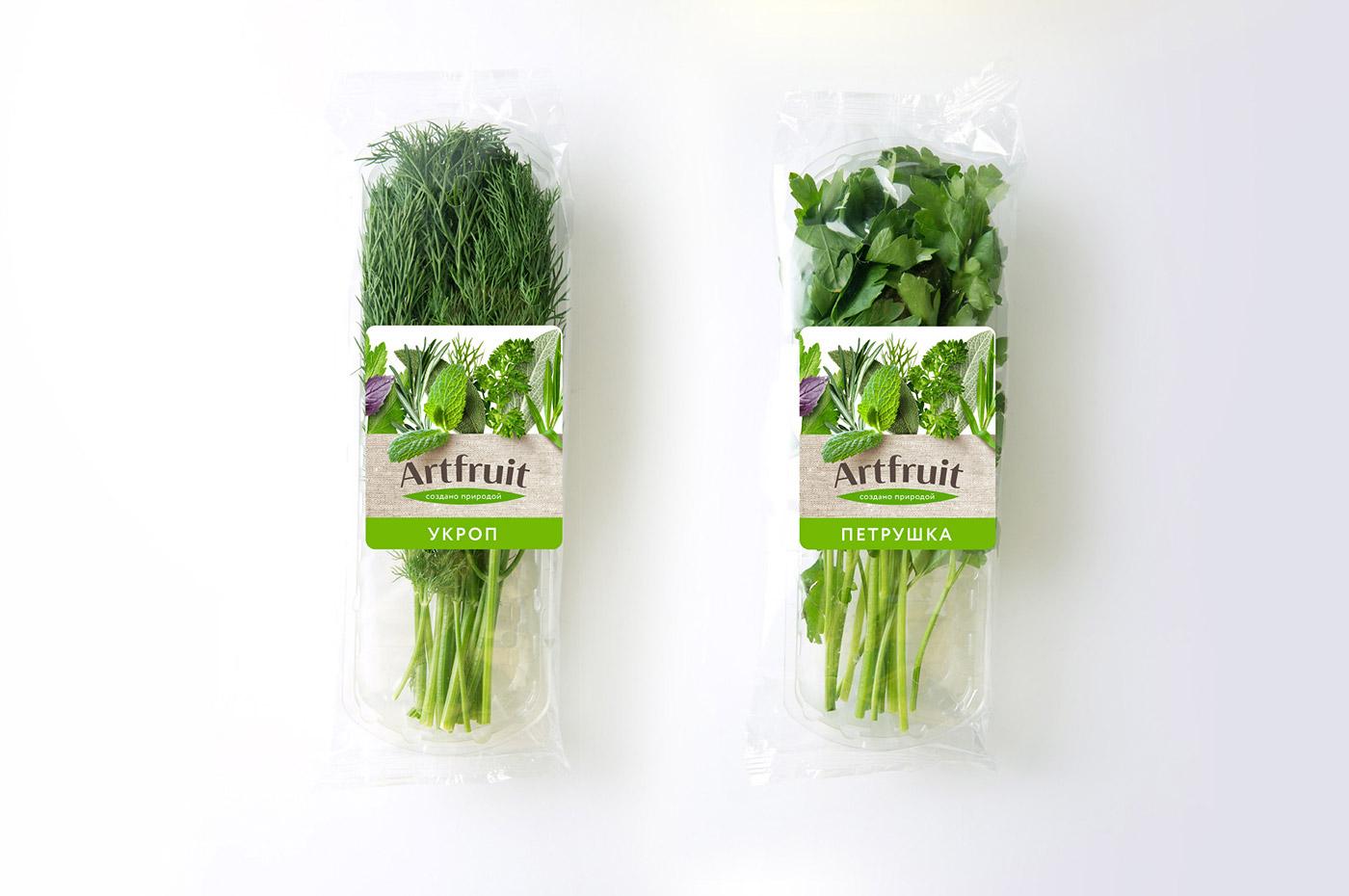 Дизайн упаковки и дизайн этикетки Artfruit