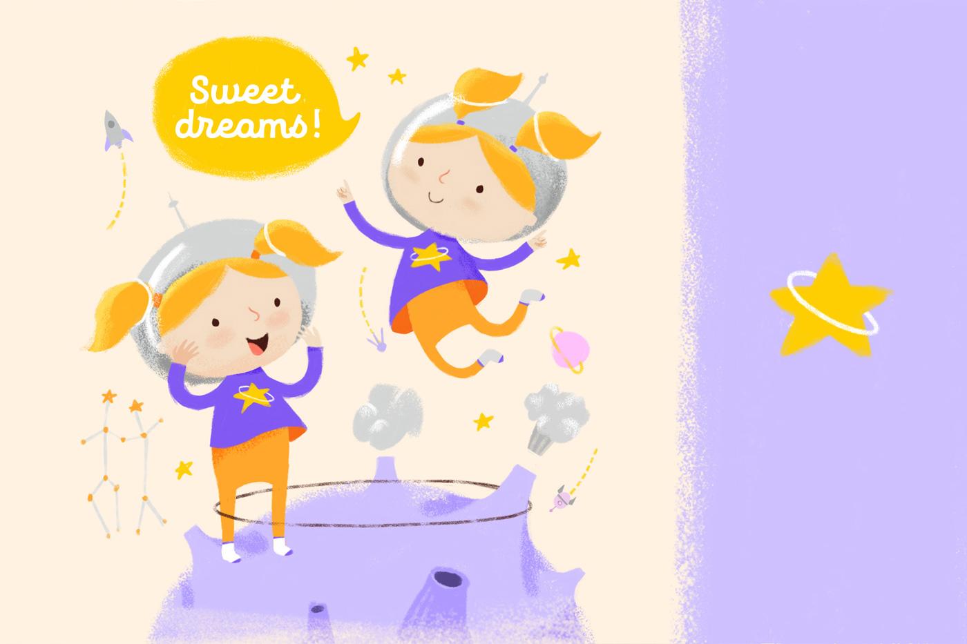 Близнецы в «Созвездии снов»