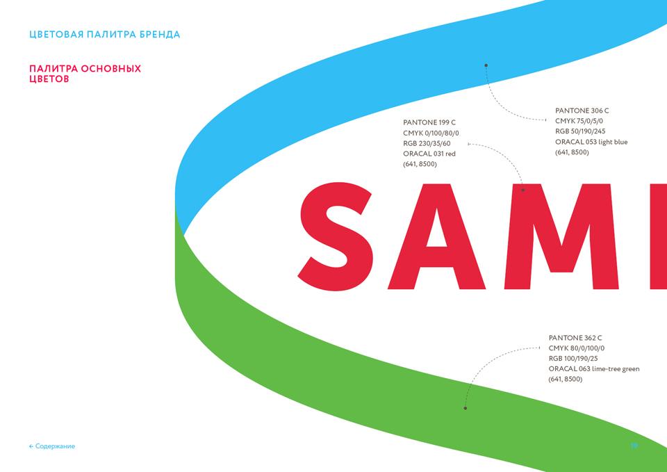 Разработка брендбука SAMFRUIT