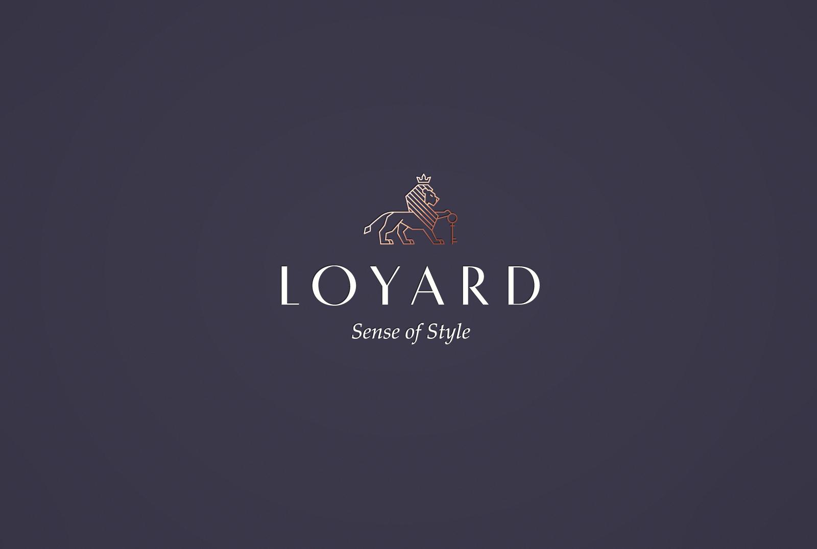 Разработка бренда межкомнатных дверей премиального качества LOYARD. Нейминг и дизайн фирменного стиля.