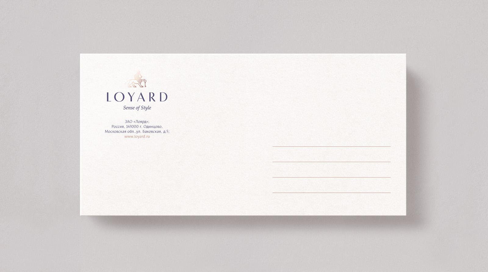 Разработка логотипа бренда LOYARD