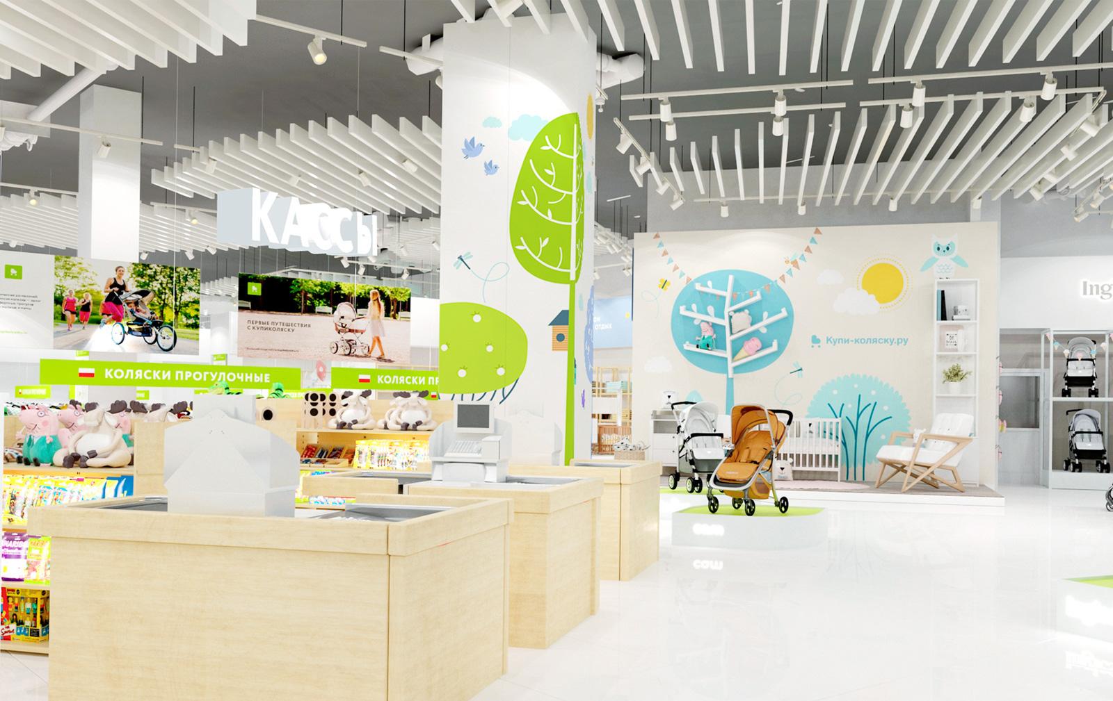 «Купи коляску» — розничный магазин для заботливых родителей с широким ассортиментом крупных товаров, колясок, мебели, игрушек для детей в возрасте до 6 лет