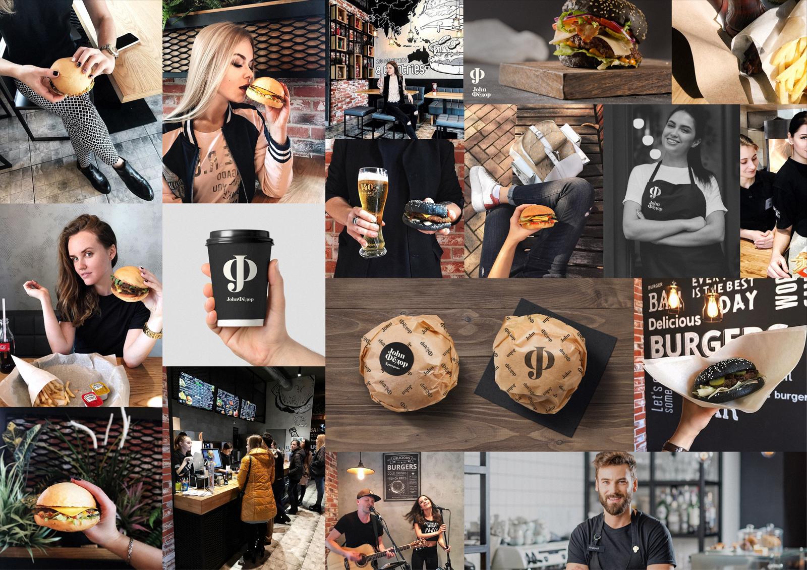 Ритейл-брендинг. Создание бренда и стратегии позиционирования бургерной «JohnФёдор», которые позволят проекту вырасти в крупную сеть, сохраняя свою индивидуальность и исключительный вкус бургеров.