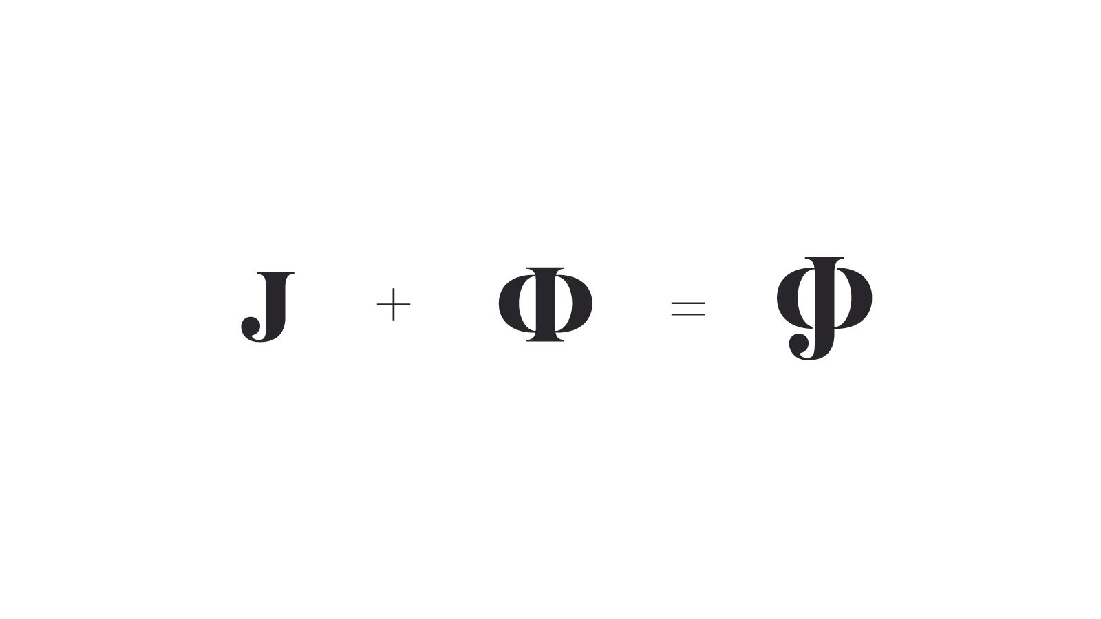 Обновленный лаконичный дизайн логотипа сочетает в едином знаке заглавные буквы имен двух ключевых героев: Джона (J) и Фёдора (Ф).