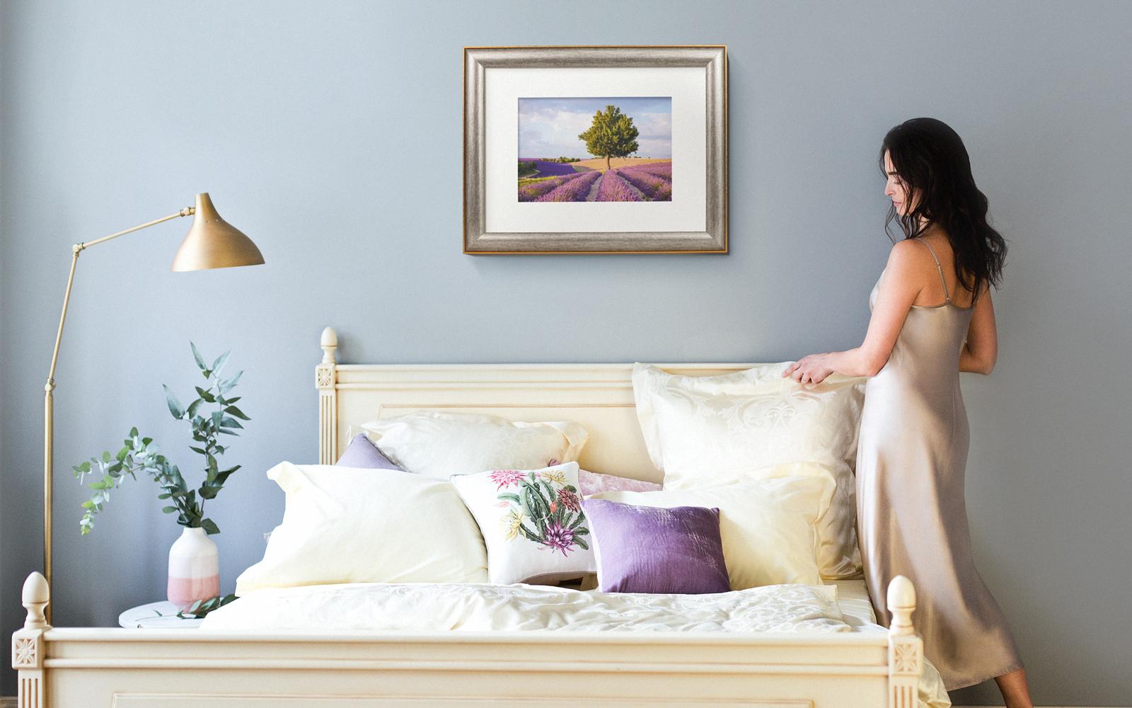 Одной из главных составляющих фирменного стиля Ecotex является фотостиль и подача постельного белья в интерьерах