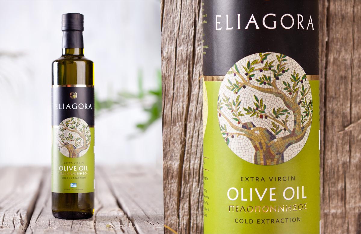 Греческий характер бренда ELIAGORA в дизайне логотипа и фирменном стиле бренда