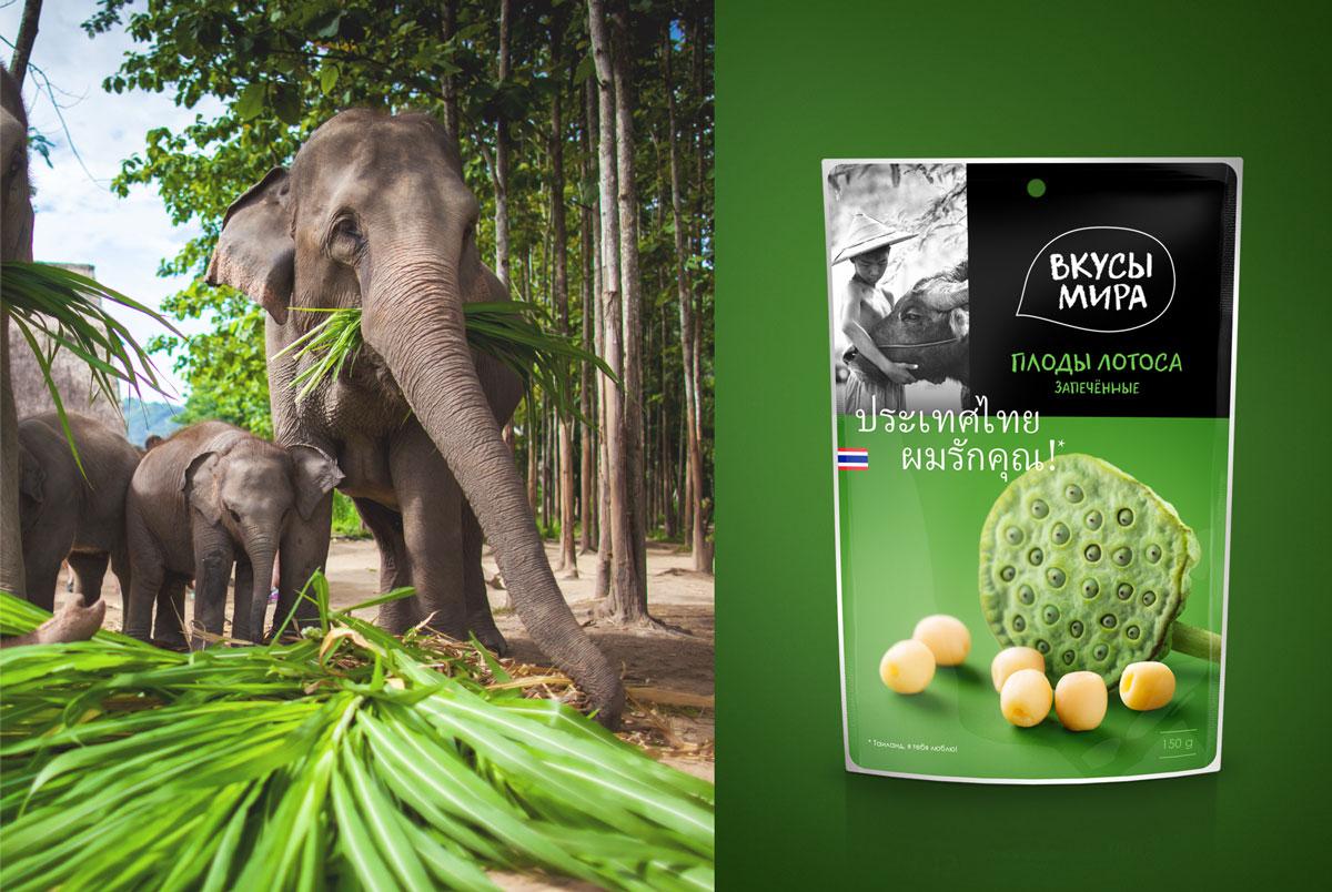 Фотостиль в основе дизайна каталога «Вкусы Мира» раскрывает атмосферу страны и вкус продукта