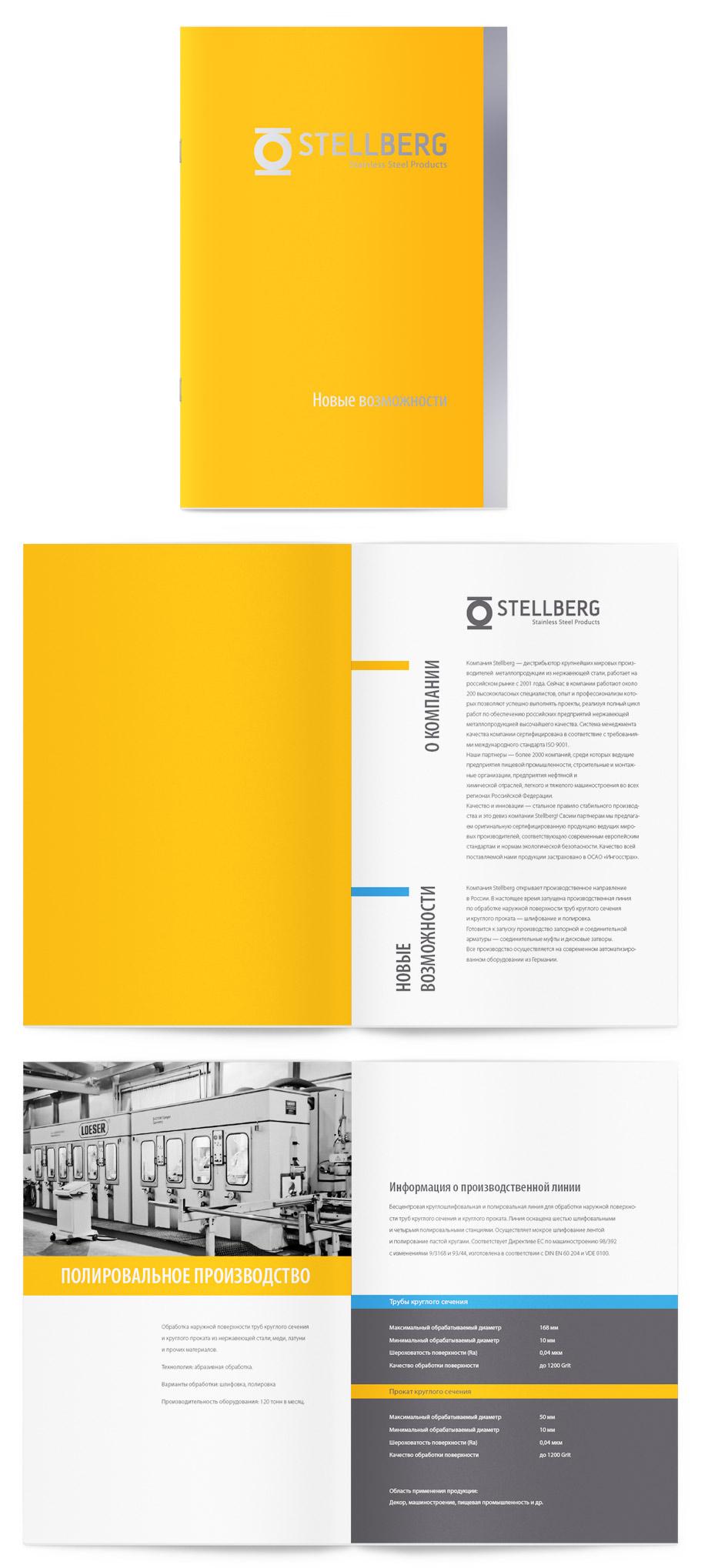 Дизайн полиграфии Stellberg