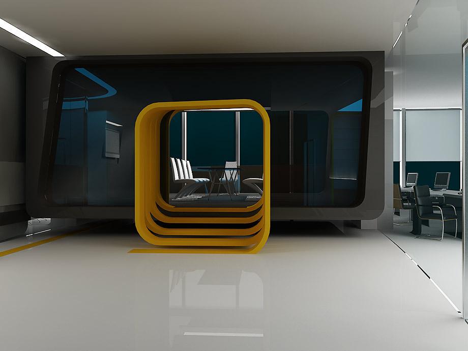 Дизайн интерьера офиса Stellberg
