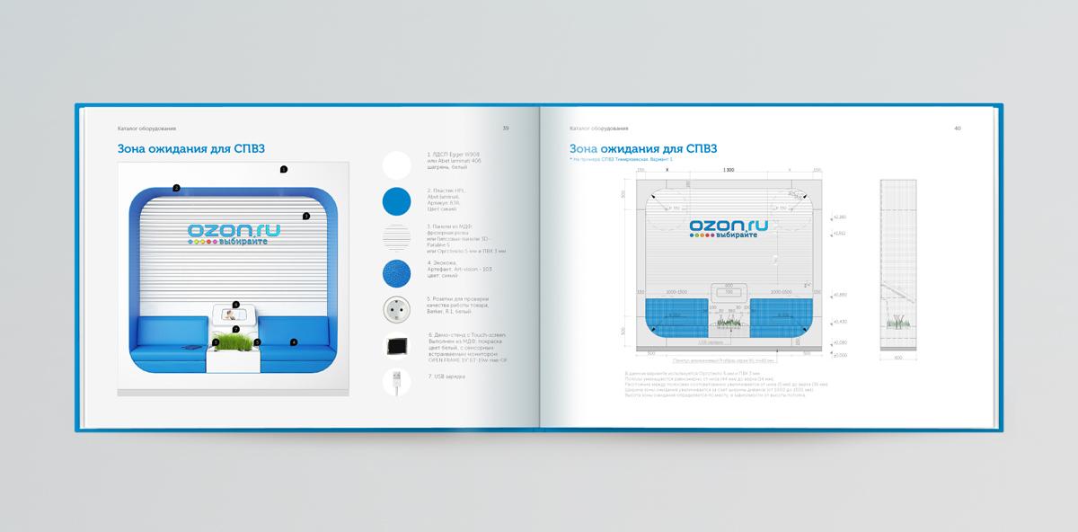 Брендинговое агентство Brandexpert «Остров Свободы» разработало руководство по управлению фирменным стилем (брендбук) крупнейшего российского интернет магазина OZON.RU