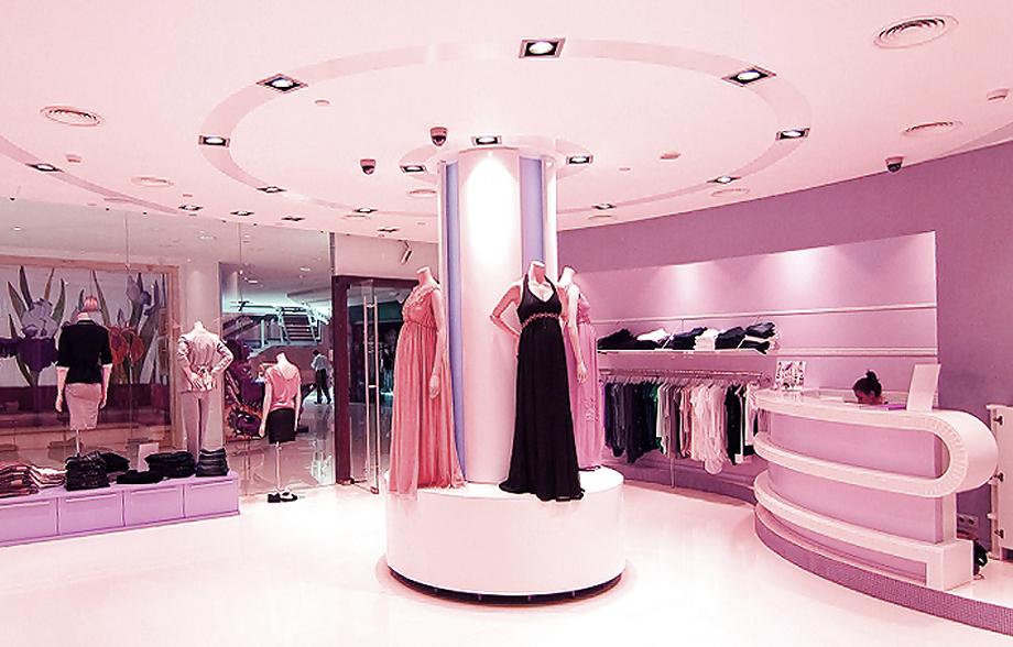 Дизайн интерьера магазина Bornsoon