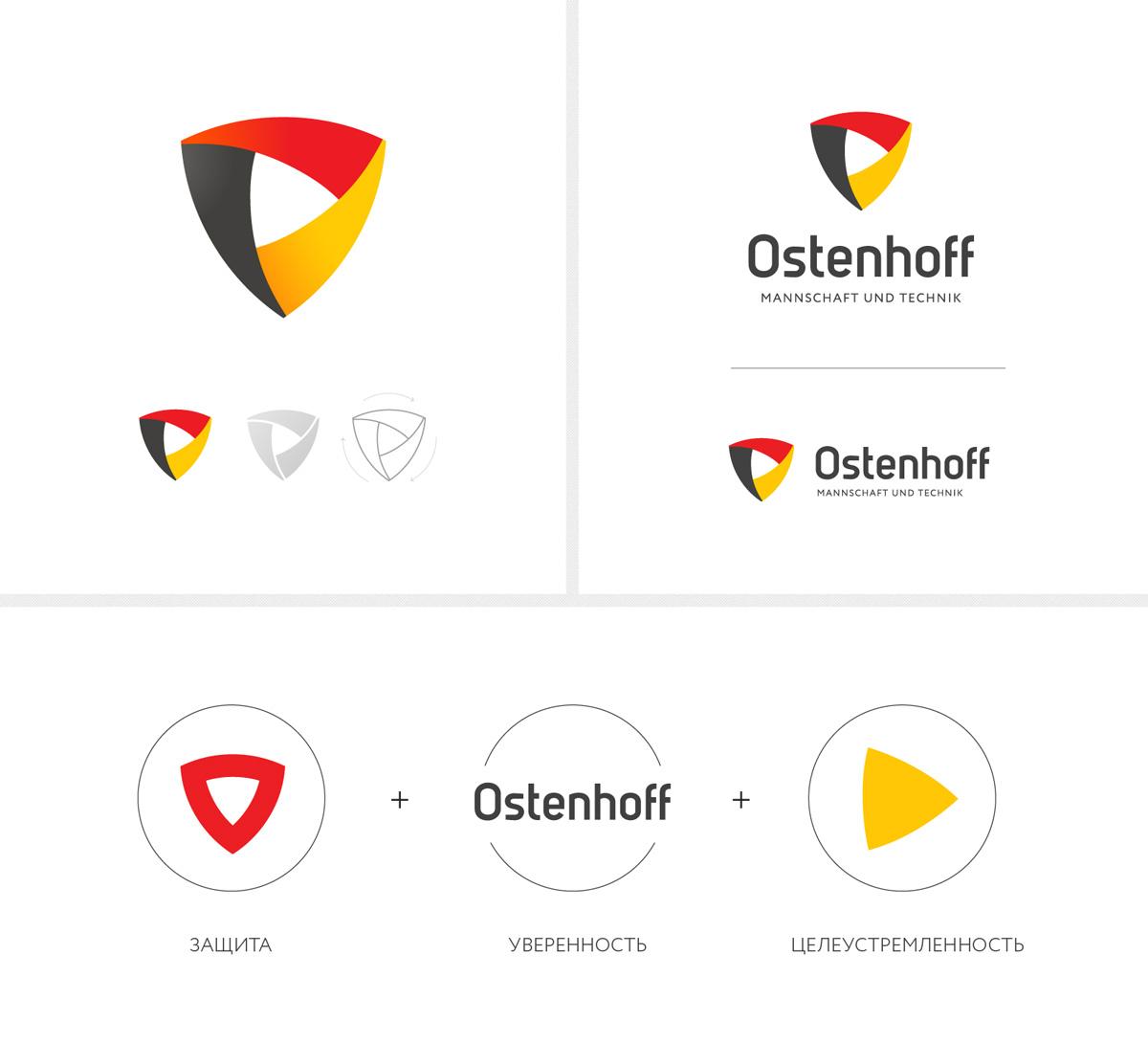 Дизайн логотипа Ostenhoff