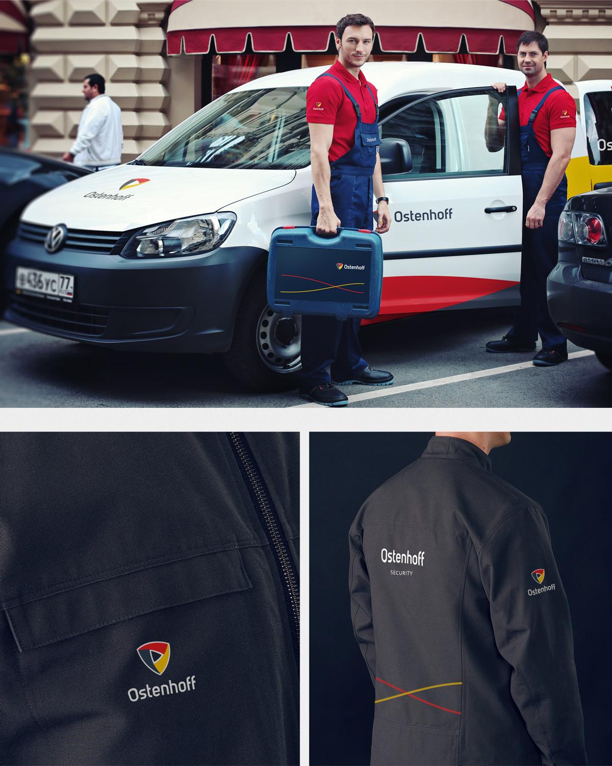 Фирменный стиль и одежда сотрудников Ostenhoff