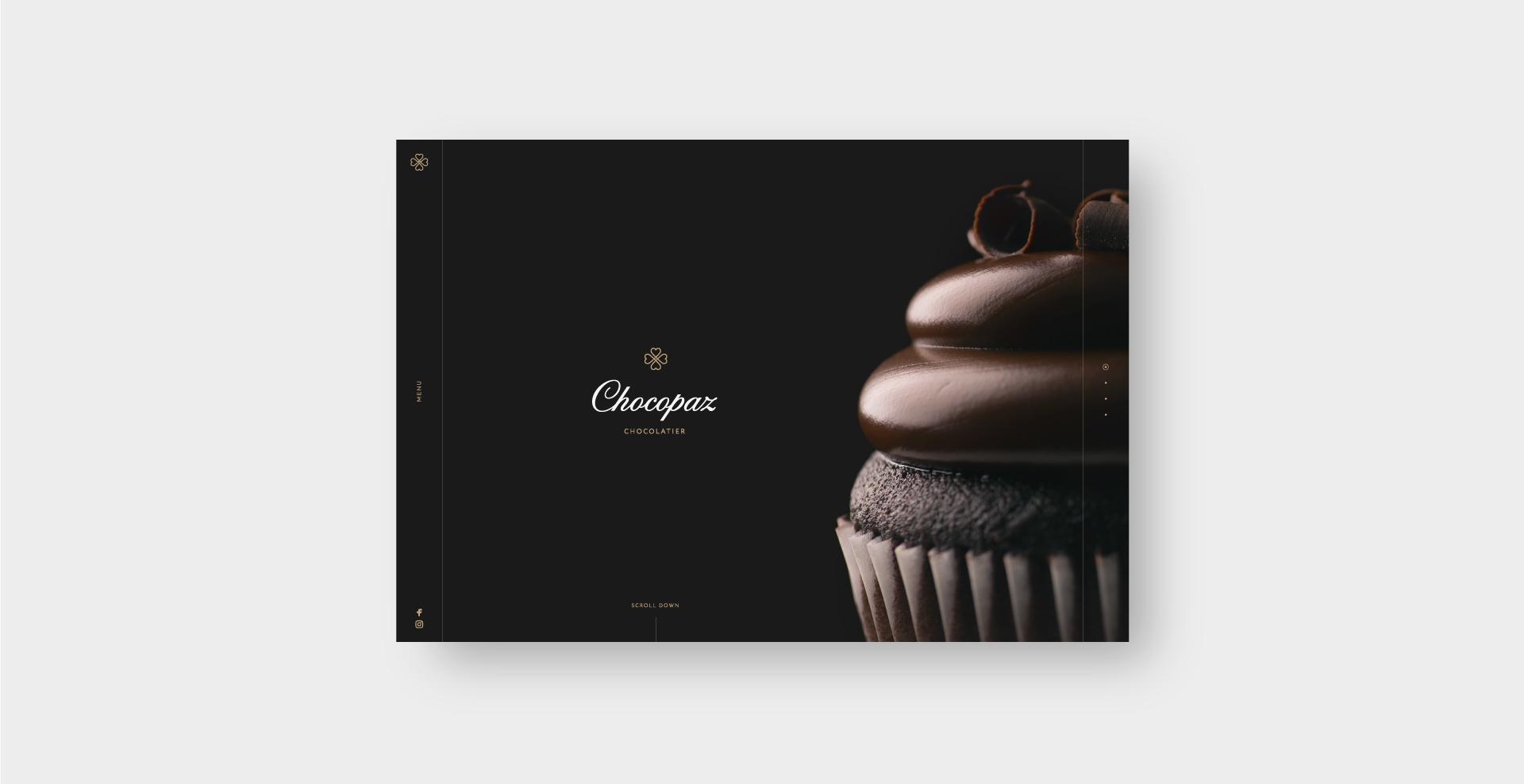 Разработка сайта Chocopaz