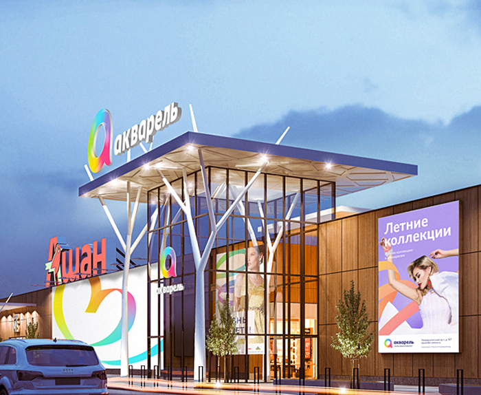 Design of shopping centers